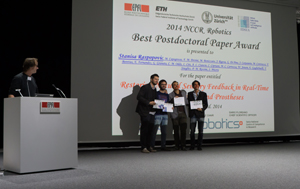 NCCR best robotics paper 2014